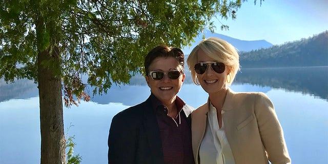 Michelle LeClair and Tena Clark.