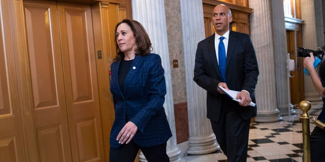 "Sen. Kamala Harris is proposing a new tax credit. Sen. Cory Booker proposes ""opportunity accounts."""