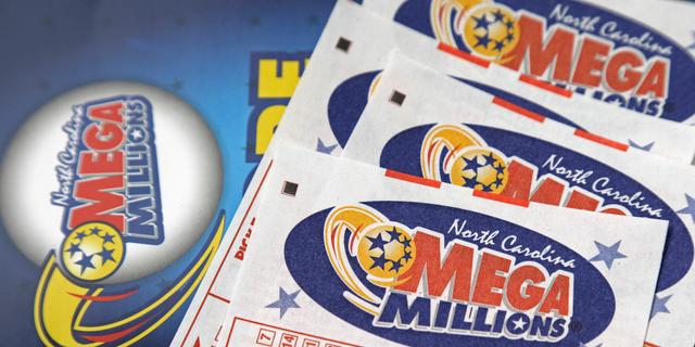 Mega Millions lottery tickets are seen near Burlington, N.C., July 1, 2016. (Associated Press)