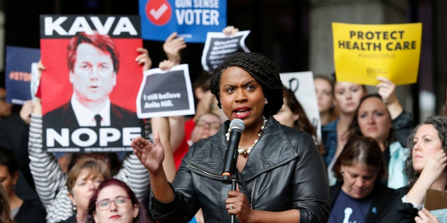 Ayanna Pressley is set to become the first black woman elected to Congress in Massachusetts.