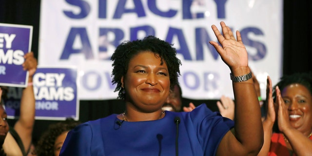 """Democratic gubernatorial nominee Stacey Abrams said the midterm elections' """"blue wave"""" includes undocumented immigrants."""