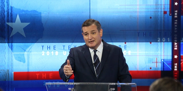 Sen. Ted Cruz, R-Texas, is running for re-election.
