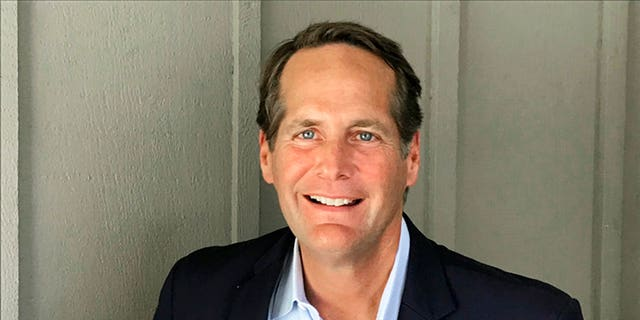 FILE: Harley Rouda, a Democratic candidate for Congress in the 48th District in Orange County, poses during interviews in Newport Beach, Calif.