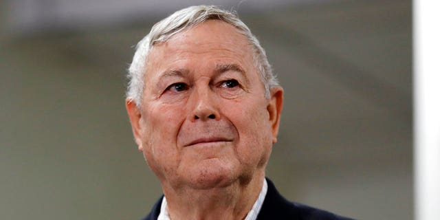FILE: Republican U.S. Rep. Dana Rohrabacher at party offices in Laguna Niguel, Calif.