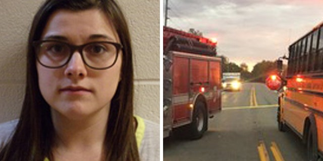 Alyssa Shepherd, 24, was arrested and charged with three counts of reckless homicide and one misdemeanor count of passing a school bus when arm signal device is extended, causing bodily injury.