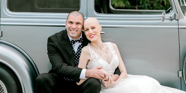 Laurin had told PEOPLE that moving up the wedding date would have been akin to letting cancer win, so they forged ahead with their March 24 plans.