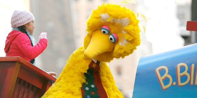 "PBS' long-running programs include ""Sesame Street,"" with characters including Big Bird, seen here."
