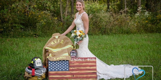 Kendall Murphy was killed in November 2017 while responding to a crash scene as a volunteer firefighter in Indiana