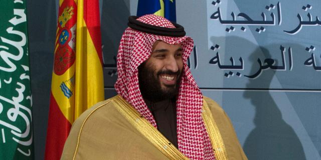 Saudi Crown Prince Mohammed bin Salman in April.