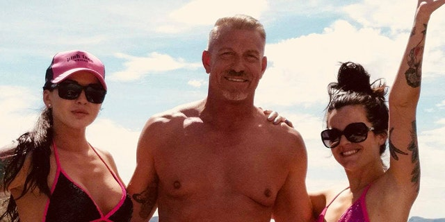 A real estate agent [left] who is dating the double her age dad of one of her best friends, says people compare them for Catherine Zeta Jones and hubby Michael Douglas.