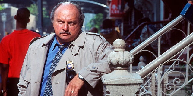 "Dennis Franz pictured here in season five of ""NYPD Blue"" won't return as his character Detective Andy Sipowicz."