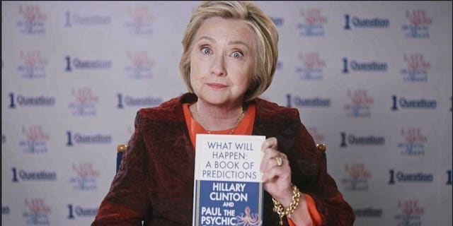 A segment featuring Hillary Clintonaired on Friday's 'The Late Show With Stephen Colbert.'