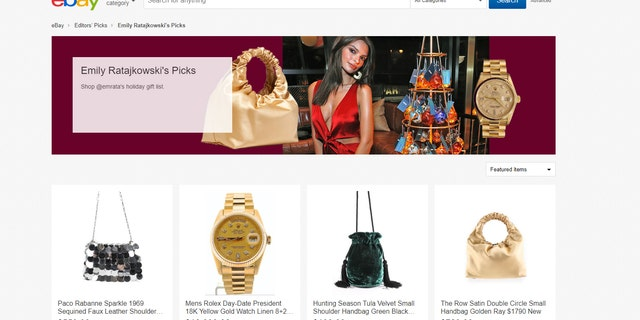 The cheapest item on Ratajkowski's gift guide currently goes for $199, while the most expensive goes for $145,000.