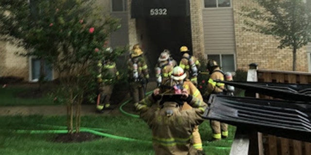 The 3-alarm fire took firefighters almost 2 hours to extinguish.