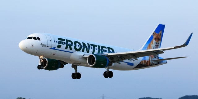 In a statement to Fox News, Frontier Airlines confirmed the incident and said the airline is working with Las Vegas police.