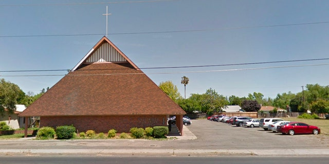 Fruitridge Christian Church, the site of an underground water leak, is located in South Sacramento.