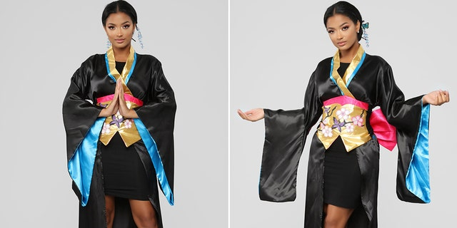 "Online retailer Fashion Nova's ""Geisha"" costume stirred controversy a month before Halloween."