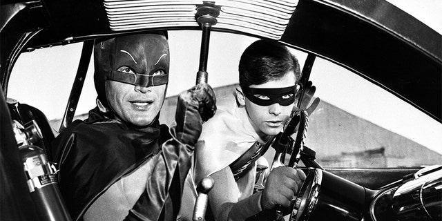 Adam West (left) and Burt Ward reigned supreme in the '60s as Batman and Robin.
