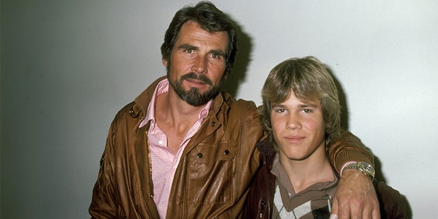 James Brolin and son Josh Brolin in 1983.