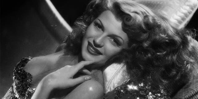 Rita Hayworth in 1942.