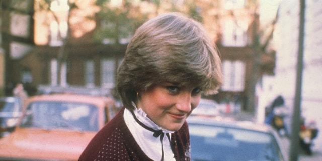 Princess Charlotte's late grandmother, Princess Diana of Wales.
