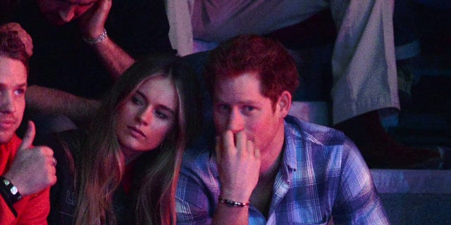 Cressida Bonas and Prince Harry attend We Day UK on March 7, 2014 in London, England.