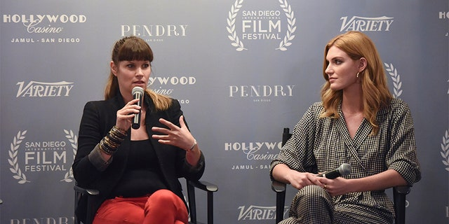 Director Frida Farrell and actress Jess Jacobs attend the San Diego International Film Festival 2017.