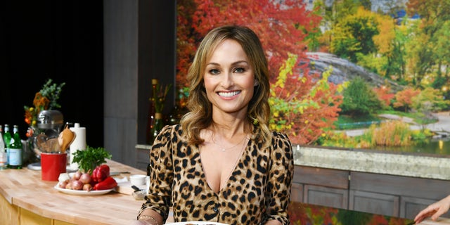 Giada De Laurentiis attends Food Network & Cooking Channel New York City Wine & Food Festival Presented by Capital One Grand Tasting presented by ShopRite featuring Culinary Demonstrations presented by Capital One at Pier 94 on October 13, 2018 in New York City. (Photo by Dave Kotinsky/Getty Images for NYCWFF)