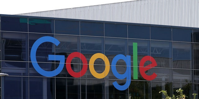 File photo - The Google logo is displayed at the Google headquarters on September 2, 2015 in Mountain View, California.