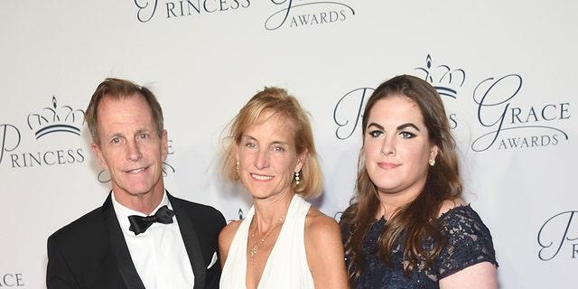 Grace Kelly's nephew Chris LeVine is seen on the left.