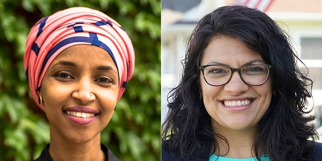 "Ilhan Omar of Minnesota (left) and Rashida Tlaib of Michigan (right) are poised to become the first two Muslim women to serve in Congress.<br data-cke-eol=""1"">"