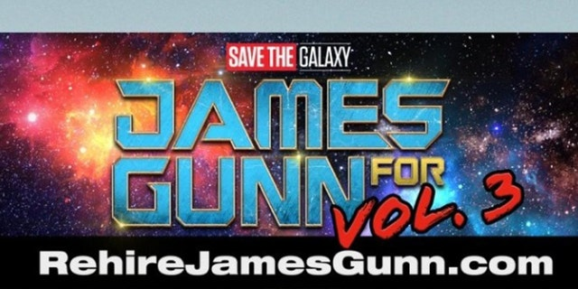 Fans of James Gunn have bought a billboard to urge Disney to hire him back.