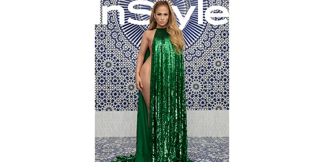 Jennifer Lopez poses for InStyle's December issue on sale November 9th.
