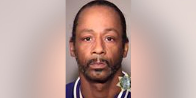 """This image provided by the Multnomah County Jail shows Katt Williams who was arrested on suspicion of assaulting a driver. Williams is in jail Sunday, Oct, 7, 2018. He had come to Portland to perform in Nick Cannon's """"Wild 'N Out"""" comedy improv show Friday night."""