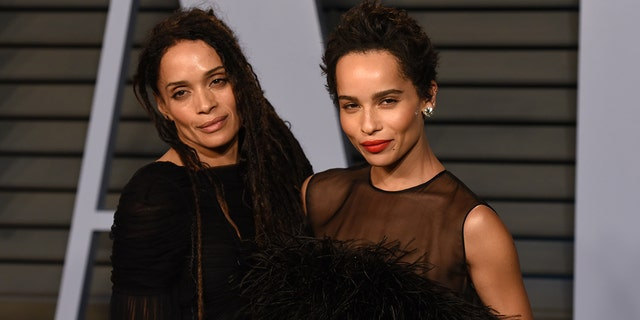 Lisa Bonet and Zoe Kravitz posed nude in similar Rolling Stone covers 30 years apart.