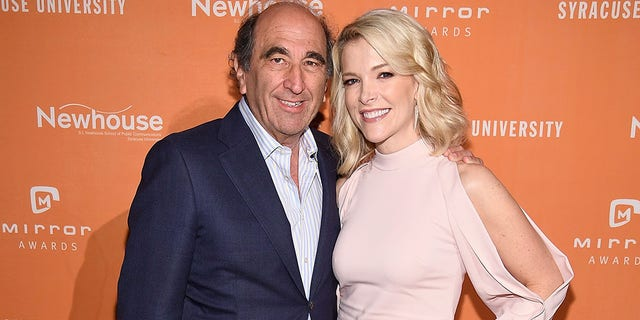 NBC News chairman Andy Lack and Megyn Kelly attend the 2017 Mirror Awards in New York City. (Photo by Dimitrios Kambouris/Getty Images)