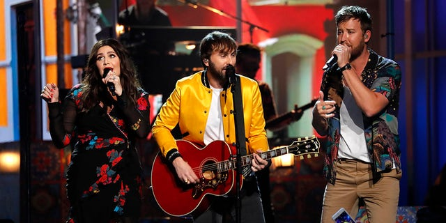 Lady A, previously known as Lady Antebellum, performs at the 53rd Academy of Country Music Awards in 2018.  (REUTERS/Mike Blake)