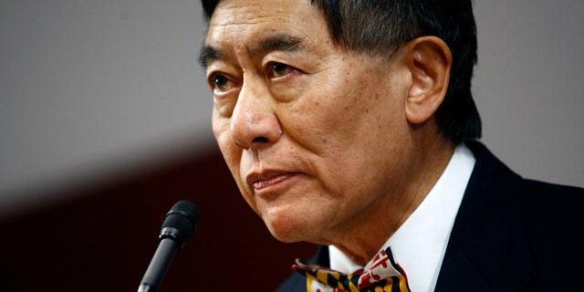 University of Maryland president Wallace Loh.(AP Photo/Patrick Semansky)