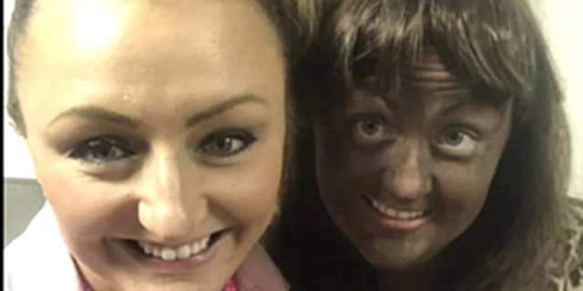 An Iowa school district is investigating reports that first-grade teacher Megan Luloff wore blackface at a Halloween party.