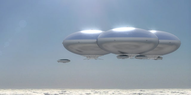 "The HAVOC proof of concept has been compared to a ""cloud city"". (NASA Systems Analysis and Concepts Directorate)"