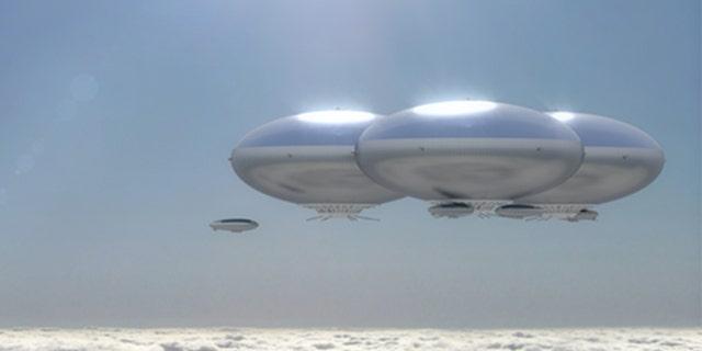 NASA eyes stunning 'cloud city' airship concept to explore ...