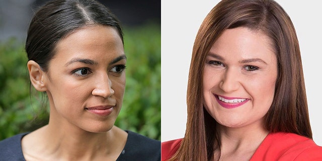 State Rep. Abby Finkenauer of Iowa (right) and Alexandria Ocasio-Cortez (left) of New York are poised to be the youngest members of Congress at just 29 years old if elected.