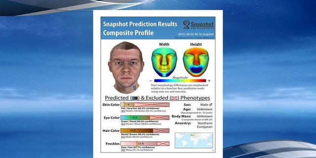 A composite photo of a potential suspect based on DNA was released earlier this year.
