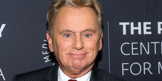 """Wheel of Fortune"" host Pat Sajak."