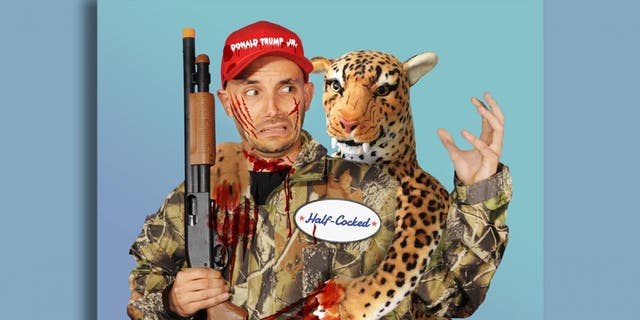 Donald Trump Jr. responded to PETA's costume by calling the organization out on its high animal euthanizing rate.