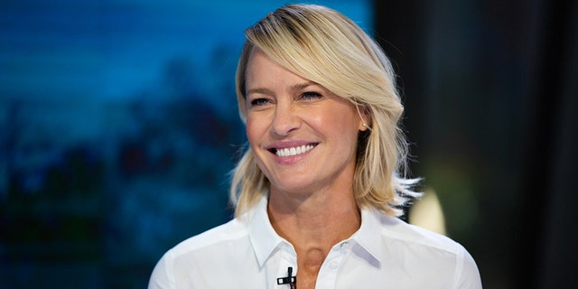 """Robin Wright stars as President Claire Underwood on the Netflix show """"House of Cards."""""""