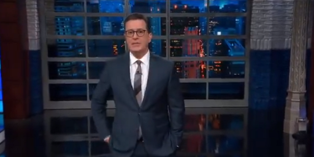 "CBS's late show host Stephen Colbert called R&B Spanish a ""linguistic surprise"" and asked why he made the decision first."