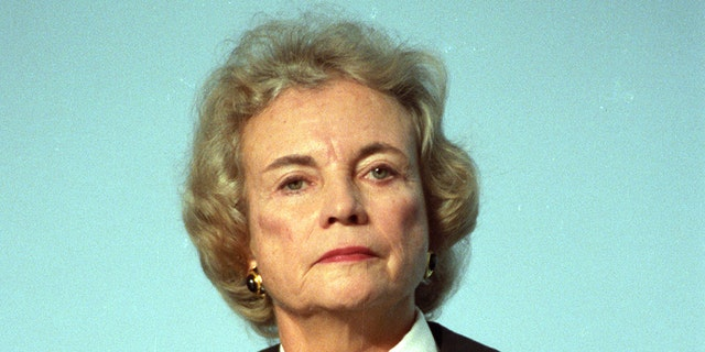 U.S. Supreme Court Justice Sandra Day O'Connor poses for a portrait in Washington on November 12, 1991.
