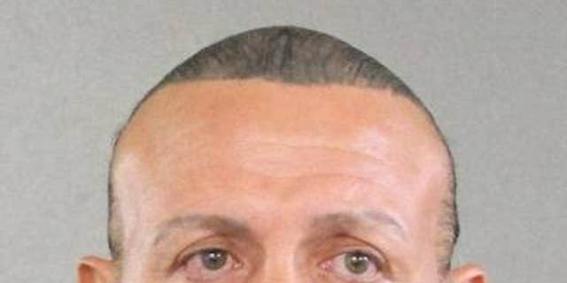 Cesar Sayoc, of Aventura, Florida, has been arrested in connection with the suspicious packages sent to Democrats. He is pictured in an old mugshot.