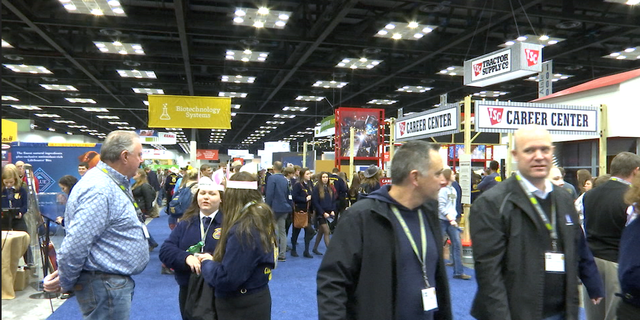 Thousands of people gathered for the Future Farmers of America national convention, sharing their expertise and thoughts this midterm election.